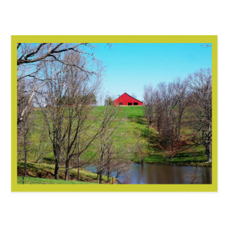 Country Scene Post Card