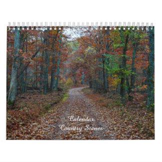Country Scenes Calendar