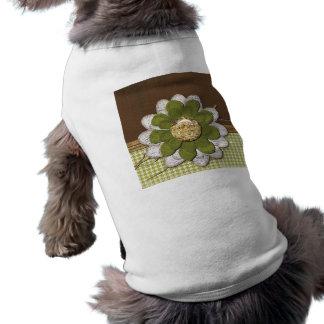 Country Scrapbook Flower Shirt