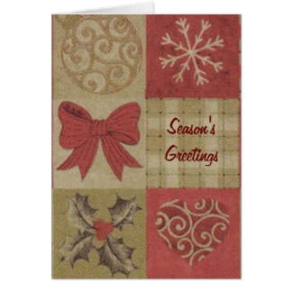 Country Season's Greetings Cards