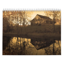 Country Sepia Calendar