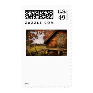 Country - Shed out back Postage Stamps