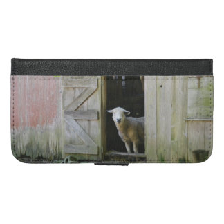 Country Sheep iPhone 6/6s Plus Wallet Case