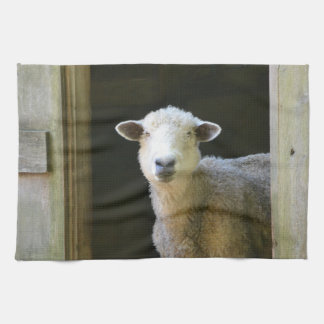 Country Sheep Kitchen Towel