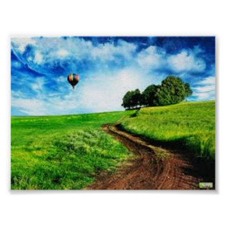 Country side Value Poster Matte