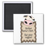 Country Silly Fun Cow Fridge Magnet