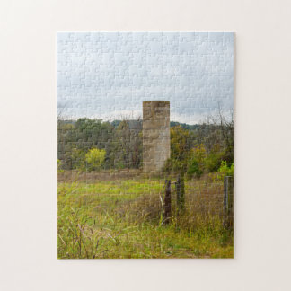 Country Silo Jigsaw Puzzle