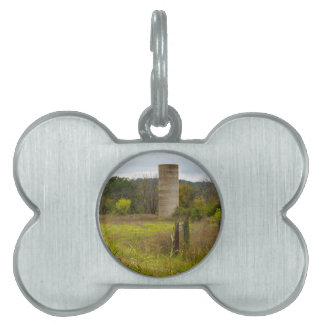 Country Silo Pet Tag