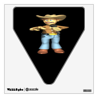 Country Singer 3 Room Sticker