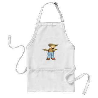 Country Singer 4 Adult Apron