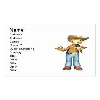 Country Singer 4 Business Card Template