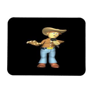 Country Singer 4 Flexible Magnet