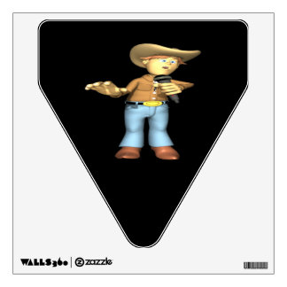 Country Singer 4 Room Sticker