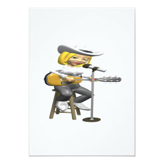 Country Singer Card