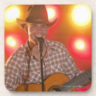 Country singer beverage coasters