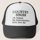 Country Singer Hot Air Trucker Hat