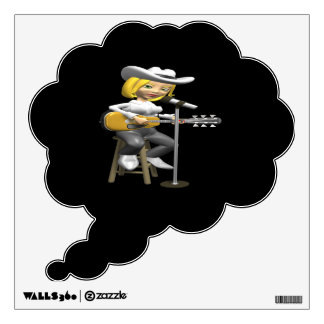 Country Singer Wall Decals