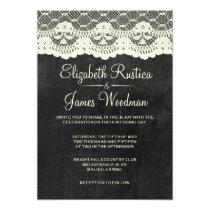 Country Slate Wedding Invitations Invitations