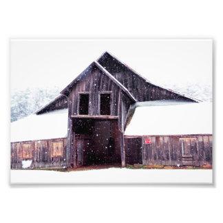 Country Snow 7x5 Photo