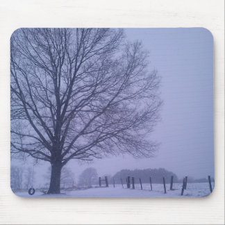 Country Snow Mousepad