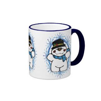 Country Snowman Mug Coffee Mug