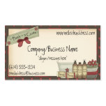 Country Soaps & Bath Products Business Card