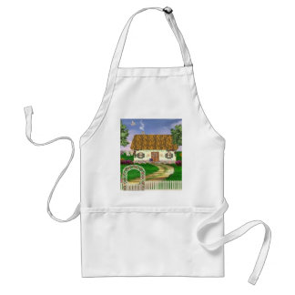 Country Spring Cottage Apron