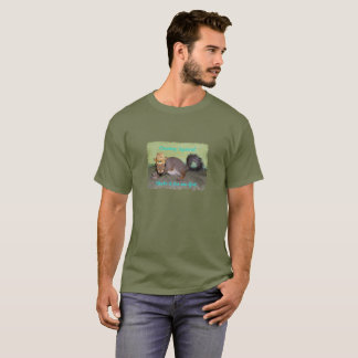 Country Squirrel Shake It T-Shirt