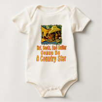 Country Star Baby Bodysuit