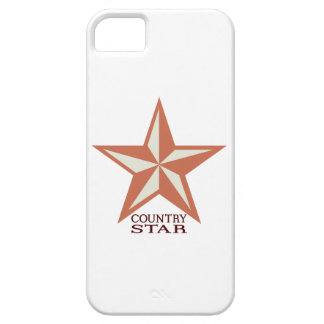 Country Star iPhone 5 Cases