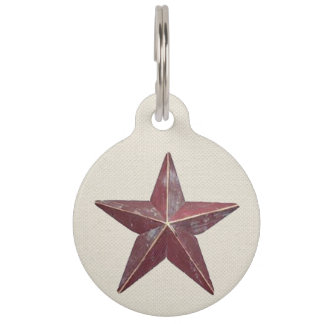 Country Star Dog Tag