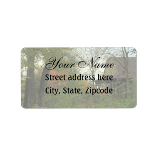 Country Stone Cottage Label