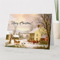 Country Store Christmas Jesus Scriptures Big Card