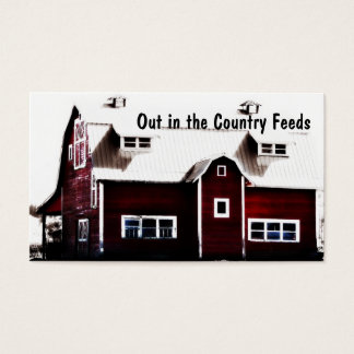 Country Store Feed Mill or Farmer's Market Business Card