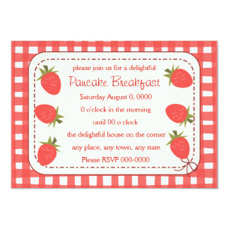 Country Strawberry Card