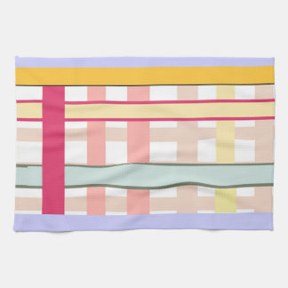 Country Striped Art Deco American MoJo Kitchen Tow Towel