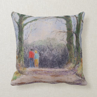 Country Stroll, American mojo custom pillow