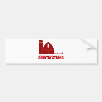 Country Strong Bumper Sticker