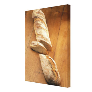 Country-style baguette For use in USA only.) Canvas Print