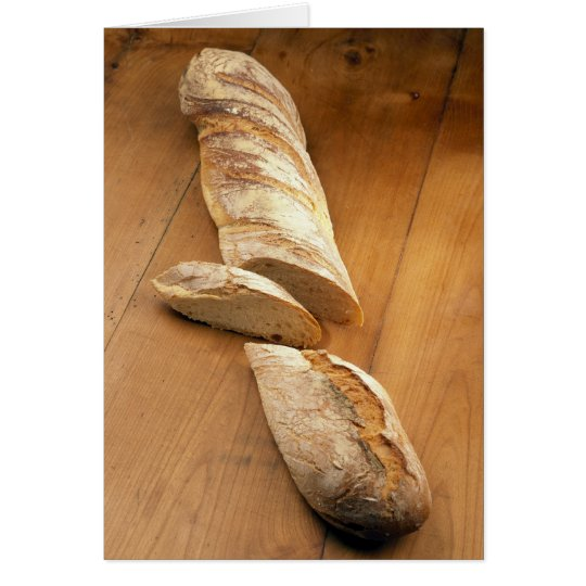 Country-style baguette For use in USA only.) Card