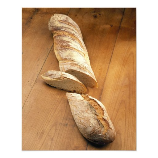 Country-style baguette For use in USA only.) Photograph