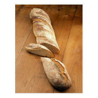 Country-style baguette For use in USA only.) Postcard