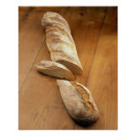 Country-style baguette For use in USA only.) Posters