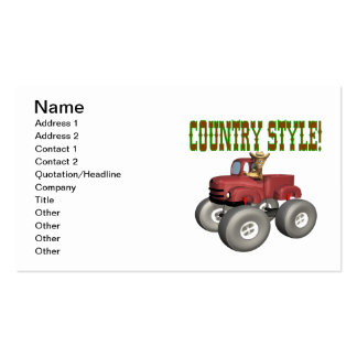 Country Style Business Card