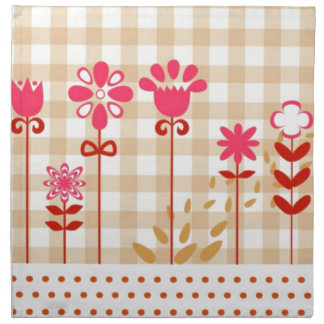 Country style cloth napkin