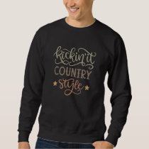 Country Style Country Style Western Stars Sweatshirt