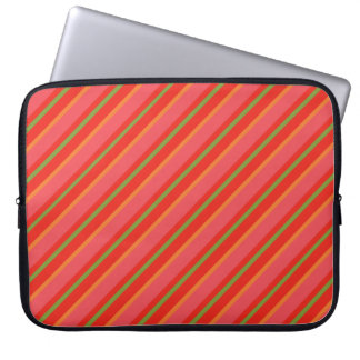 Country-style Green Check Gingham Laptop Sleeve