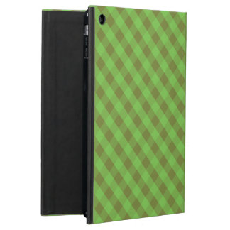 Country-style Green Check Powis iPad Case