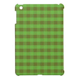 Country-style Green Check Savvy Case for iPad Mini Cover For The iPad Mini