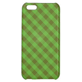 Country-style Green Gingham iPhone 5c Savvy Case